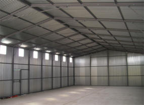 Second hand steel portal frame buildings for Steel frame barns for sale